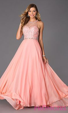 Prom Dresses, Celebrity Dresses, Sexy Evening Gowns: Floor Length Gown with Illusion Bodice by Rachel Allan Sweet 16 Dresses, Sweet Dress, Cute Dresses, Long Prom Gowns, Formal Gowns, Long Dresses, Grad Dresses, Bridesmaid Dresses, Dance Dresses