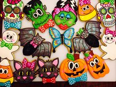 307 Best Halloween Decorated Cookies And Cake Pops Images