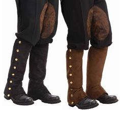 Adult Steampunk Male Spats
