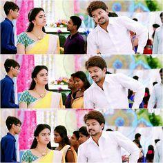 Vijay & keerthi in bairavaa