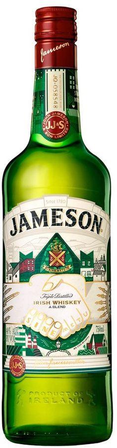 Jameson St. Patrick's Day Limited Edition Original Irish Whiskey | @Caskers