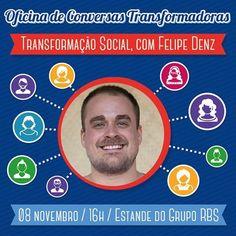 Gsa 2012 Felipe Denz realiza oficina com o tema Transformação Social em Porto Alegre.