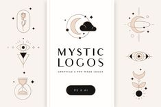 Mystic Logos - Graphics and Logos by Davide Bassu on @creativemarket