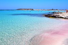 Crete-Elafonisi.....transparent water and  unique pink sand!