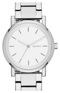 DKNY 'Soho' Round Watch, 34mm available at #Nordstrom
