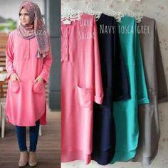 Pakaian Hijab Kheva Tunik