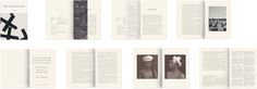 The Office of Optimism. Spreads of The White Review, Issue 1 (Design, Art Direction, Typeface Design).