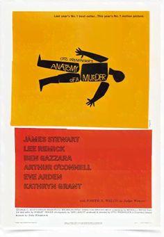 Poster Cinema Filme Anatomy of a Murder - Decor10