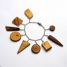 Retiazkový náramok s drievkami / wlkr - SAShE. Jewelry, Fashion, Moda, Jewlery, Jewerly, Fashion Styles, Schmuck, Jewels, Jewelery