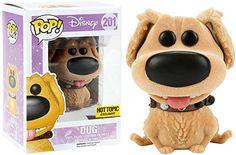 Funko Pixar Up! Dug, Disney, Up! Disney Pop, Ariel Disney, Walt Disney, Pop Vinyl Figures, Funko Pop Figures, Wall E, Johnny Depp, Hot Topic, Pixar