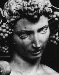 Dionysus the Greek Wine God. Bacchus by Michelangelus Bonarotus. Michelangelo Sculpture, Florence Tours, Italian Sculptors, Classical Antiquity, Renaissance Paintings, Satyr, Bacchus, Italian Artist, Sacred Art