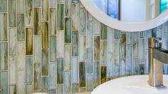 Great application of a gorgeous mosaic! I sell the best stuff!