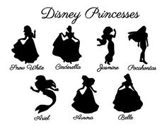 Disney Princess Etched   Glass by lindseyhuckabee, $12.00