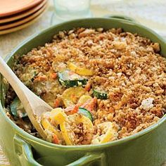 Summer Squash Casserole Recipe | MyRecipes.com