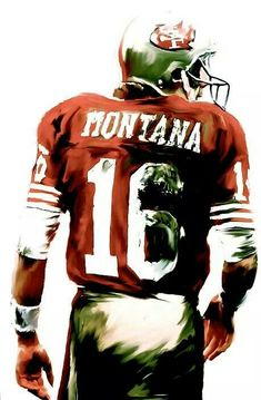 Former San Francisco 49ers Great & Hall of Fame QB; Joe Montana