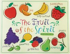 Fruit of the spirit joy arts craft book fruits of for Fruit of the spirit goodness craft