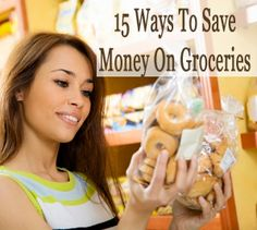 15 ways to save money on groceries