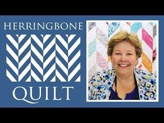 - The Herringbone Quilt: Easy Quilting Tutorial with Jenny Doan of Missouri Star Quilt Co. MSQC& Jenny teaches us how to make a quick and simple herringbone quilt with half square triangles made out Missouri Quilt Tutorials, Quilting Tutorials, Msqc Tutorials, Quilting Tips, Star Quilts, Easy Quilts, Herringbone Quilt Tutorials, Herringbone Pattern, Jenny Doan Tutorials