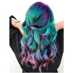 "206 Likes, 76 Comments - LOS ANGELES HAIRSTYLIST (@marilynrockshair) on Instagram: ""Sea Siren I am so proud of this for so many reasons, it is like a breaking out piece of art for…"""