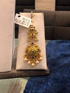 Gold Temple Jewellery, Gold Wedding Jewelry, Gold Jewelry Simple, Gold Jewellery Design, Gold Bridal Earrings, Gold Earrings Designs, Necklace Designs, Gold Buttalu, Classic Bridal Jewellery