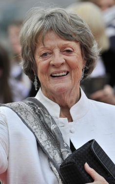 British actress Maggie Smith won the outstanding supporting actress award in a miniseries or a movie category at Emmy Awards 2011. REUTERS/Dylan Martinez