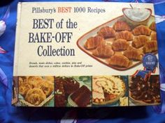 This is a copy of the original 1959 cookbook titled. Pillsbury's Best 1000 Recipes Best of the Bake-Off Collection .and is in very good conditio Bake Off Winners, Pillsbury, Kitchen Items, Cookie Jars, Cake Pans, Popular Recipes, Vintage Kitchen, Main Dishes, Good Food