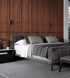 Discover the contemporary range of luxurious beds, storage beds, sofa beds and bedroom furniture from King Living. Available as King Size Beds, Queen Size Beds, Double Size Beds and King Single Beds. King Furniture, Bedroom Furniture, King Single Bed, Bedside Table Design, Headboards For Beds, Queen Size Bedding, Bed Storage, Sofa Bed, Luxury Bedding
