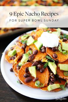 9 Epic Nacho Recipes for Sunday Night Football via @PureWow