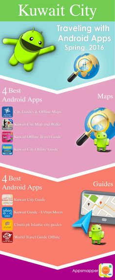 Kuwait City Android Apps Travel Guides Maps Transportation