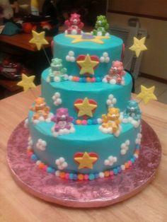 Carebears cake :)
