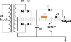 Parking Lights Circuit Diagram schematic or electronic