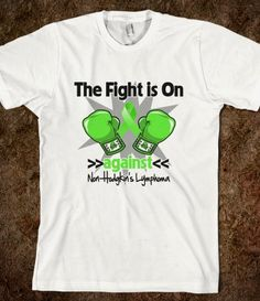 The Fight is On Against Non-Hodgkins Lymphoma