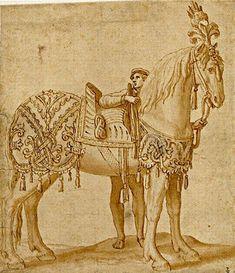 Dariusz caballeros: Two Renaisance drawings from 'Joconde'