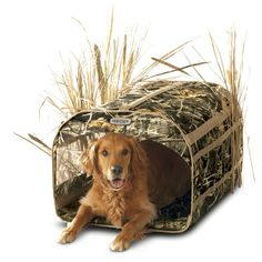 Dog Retriever Blind Doubles as a Decoy Bag Duck Hunting Accessories Camouflage #ClassicAccessories