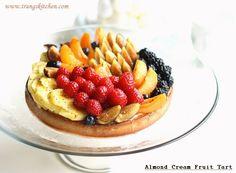 Almond Cream Fruit Tart