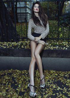 Isabeli Fontana for Morena Rosa Shoes Winter 2013 Campaign Full