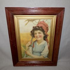 The Vintage Village - View Classified - Harvest Days - Young Smiling Girl