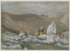 With Passover Approaching, Jesus Goes Up to Jerusalem : James Tissot : Free Download & Streaming : Internet Archive