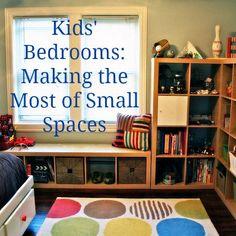 Kids room organization diy room storage boys bedrooms in small spaces top tips organization for home Small Spaces, Small Rooms, Bedroom Small, Small Small, Boys Bedroom Ideas Toddler Small, Warm Bedroom, Boy Toddler, Pretty Bedroom, Play Spaces