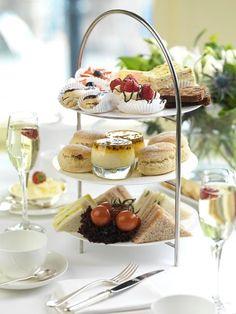 Afternoon Tea at The Caledonian Edinburgh, Scotland, UK