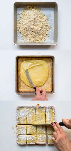 To make beautiful lemon bars, first start with this easy lemon curd.