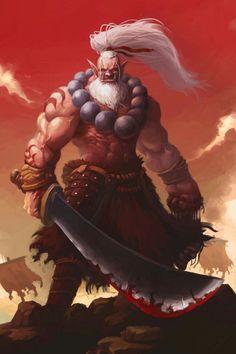 Redskin Orc Blademaster