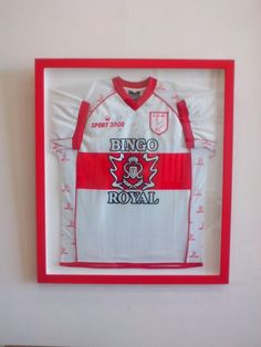 Enmarcado de Camiseta del Club Deportivo Moron