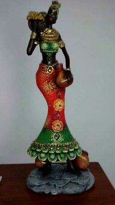 Clay Dolls, Art Dolls, Art Doll Tutorial, Diy And Crafts, Arts And Crafts, Foto Blog, Africa Art, Clay Art, Pottery
