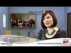 The Helen Doron method offers children of all ages a progressive English learning method that's fast, fun and musical.   Our specially trained teachers in Helen Doron Early English take teaching very seriously, and in fact never stop learning themselves. They receive on-going guidance through seminars, conferences, and a steady supply of Helen Do...