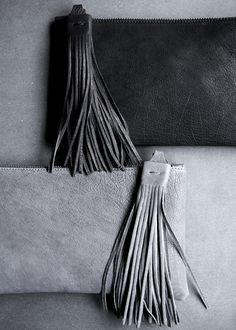 Yvonne Koné - New Tassel clutch