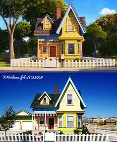 """Place to visit...the """"real"""" UP house! Located outside of Salt Lake City, Utah...this article will tell you all about it!"""