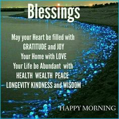 Good morning blessings for you beloved today and the rest of the week♥ a good morning smooch too♥