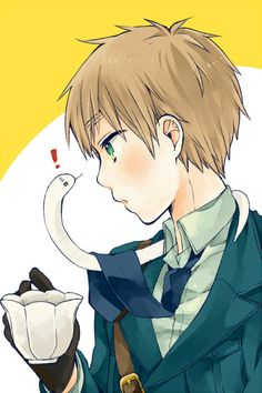 *horrified expression* ....I-is that a....?! <<< Well hello there little fella~