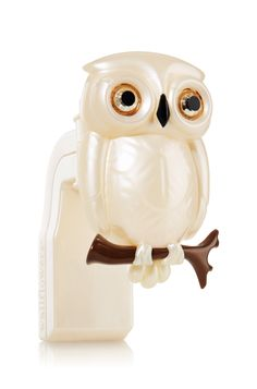 Cream Owl Wallflowers® Fragrance Plug - Slatkin & Co. - Bath & Body Works ... how cute is this owl!
